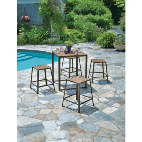 Ace  Ace LOFT STOOL BROWN $41.99