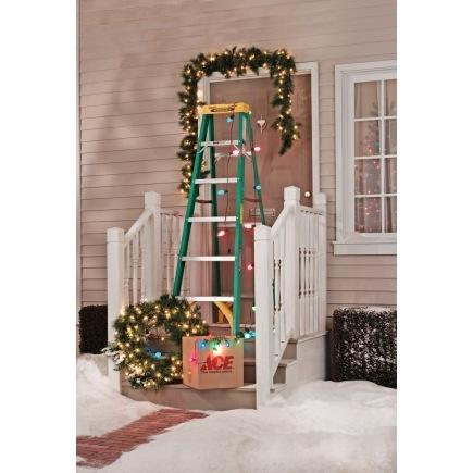 Ace  Ace STEPLADDER - FIBERGLS 6' TYPE II $74.99