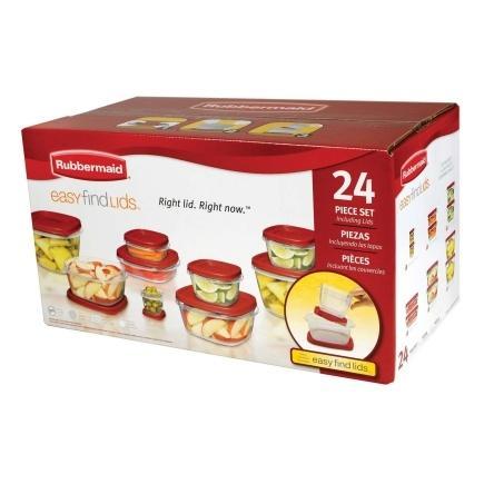 $22.99 24pc Food Storage Container Set