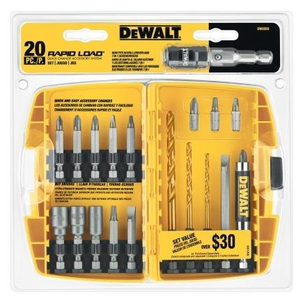 $18.99 20pc Rapid Load Driver Set