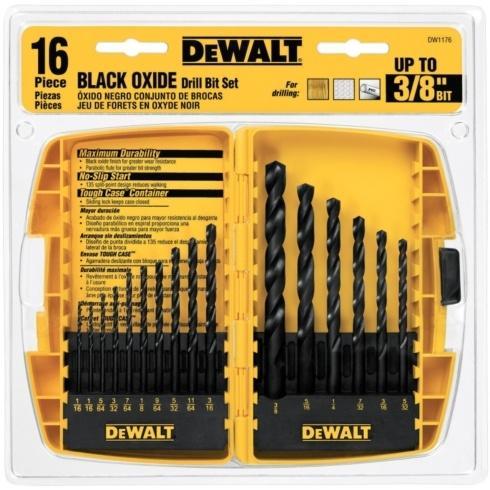 Ace  Dewalt DEWALT DRILL BIT SET 16 PC $18.99