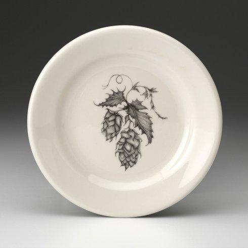 Laura Zindel Design   SALAD PLATE HOPS #2 $35.00