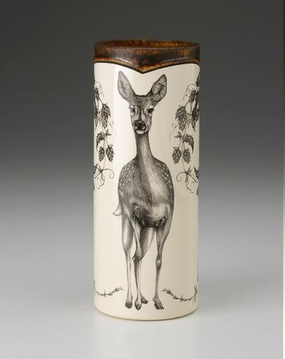 Laura Zindel Design   SMALL VASE FALLOW DEER $143.00