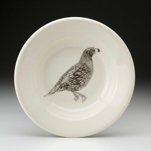 Laura Zindel Design   SOUP BOWL QUAIL #1 $35.00