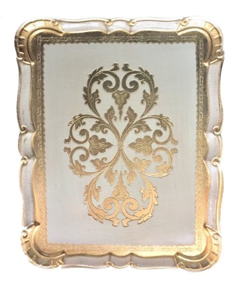 Tizo Designs   Hand Painted Italian Tray Large $153.00