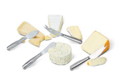Breed & Co. Exclusives  Kitchen  CHEESE SET STAINLESS STEEL $20.00