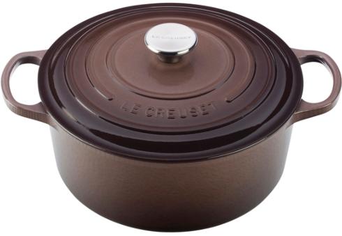$280.00 4.5 Qt. Round Cast Iron Dutch Oven - Truffle