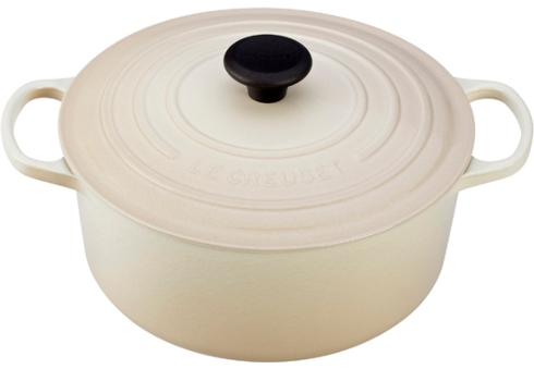 Le Creuset  Cast Iron Dutch Ovens 5.5 Qt. Round Cast Iron Dutch Oven - Dune $350.00