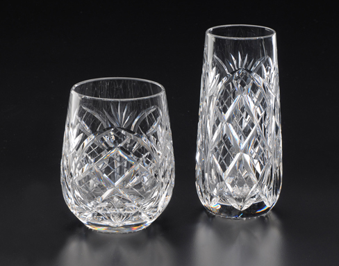 Heritage Irish Crystal  Cathedral Stemware/Barware Roly Poly Highball $124.00