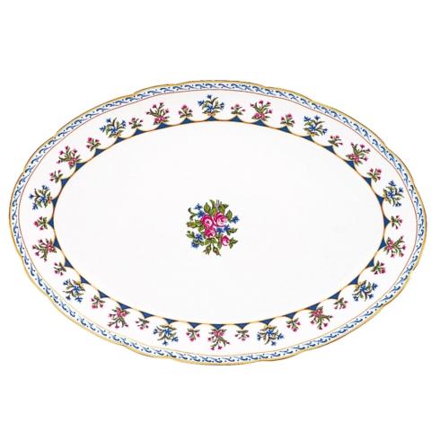 """$456.00 13"""" Oval Platter"""