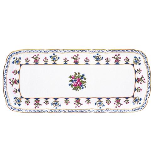 """$668.00 Rectangular 15"""" Cake Serving Platter"""