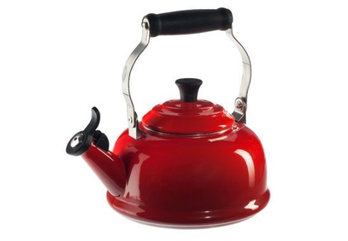 $100.00 1.7 Qt. Classic Whistling Kettle - Cherry