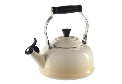 $100.00 1.7 Qt. Classic Whistling Teakettle - Dune