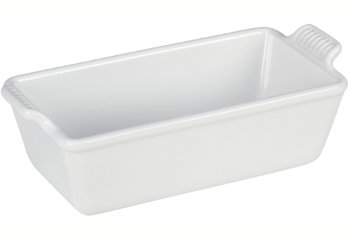 $45.00 Heritage Loaf Pan - White