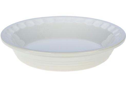 $45.00 Heritage Pie Dish - White