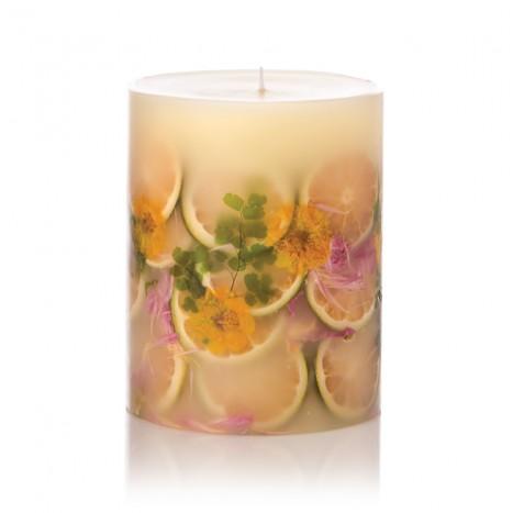 $56.00 Lemon Blossom & Lychee Botanical Candle