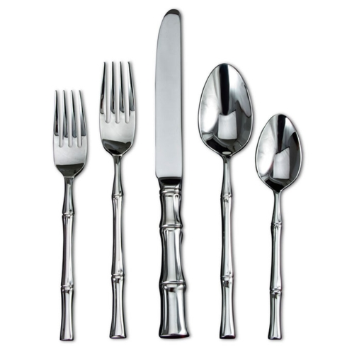 $70.00 5 Pc. Stainless Steel Place Setting
