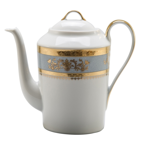 Deshoulieres  Orsay powder blue Coffee Pot $680.00