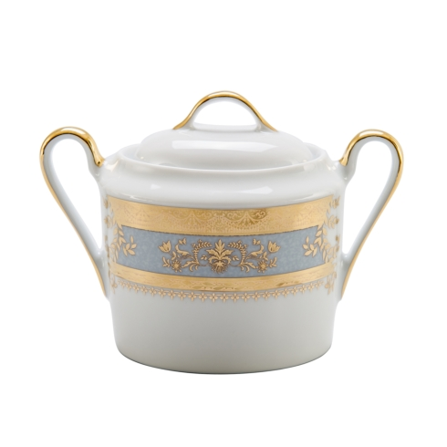 Deshoulieres  Orsay powder blue Sugar Bowl $435.00
