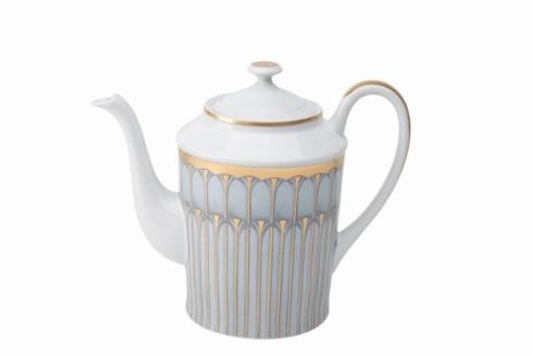 Deshoulieres  Arcades grey & gold Coffeepot $520.00