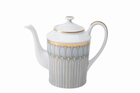 Deshoulieres  Arcades grey & gold Coffeepot $535.00
