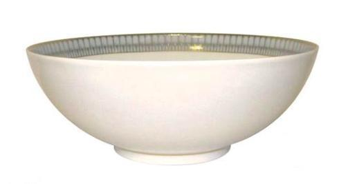 Deshoulieres  Arcades grey & gold Salad bowl $450.00