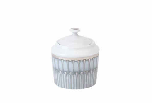 Deshoulieres  Arcades grey & platinum Sugar Bowl $295.00