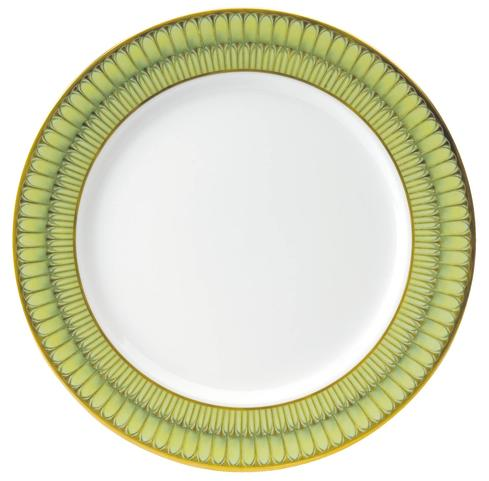 Deshoulieres  Arcades green Serving Plate $245.00