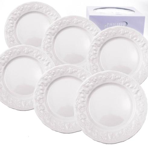 $75.00 Canape Plates (Set Of 6)