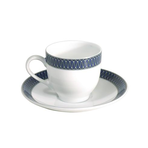 Royal Limoges  Recamier - Blue Star Coffee saucer $30.00