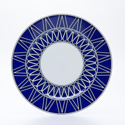 "Royal Limoges  Recamier - Blue Star Dinner plate 10.75"" $95.00"