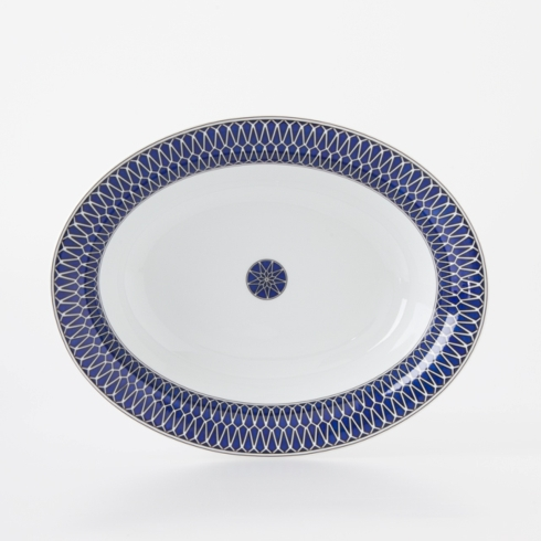 Royal Limoges  Recamier - Blue Star Open vegetable $250.00