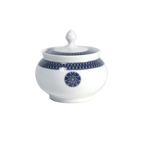 Royal Limoges  Recamier - Blue Star Sugar bowl $175.00
