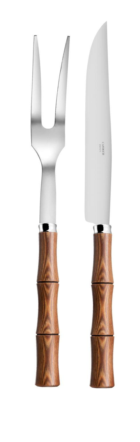 Capdeco  Byblos beechwood Carving set