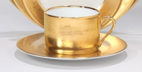 Deshoulieres  Carat gold Tea Cup $180.00