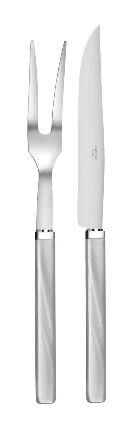 Capdeco  City Grey Carving set $120.00