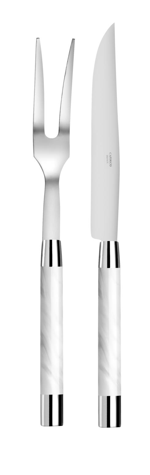Capdeco  Conty white Carving set $150.00