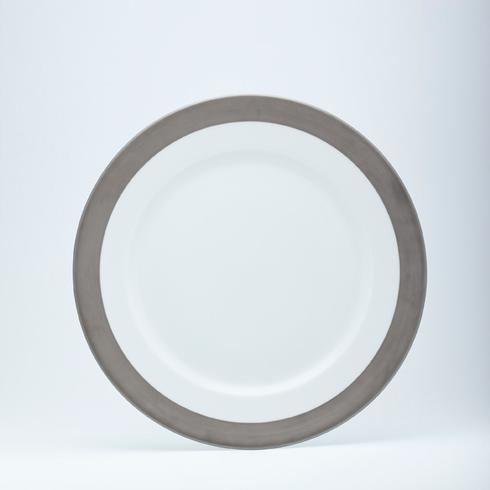 presentation plate (1/2 rim matte platinum)