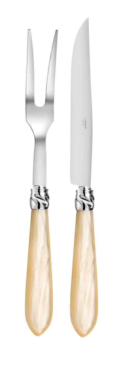 Capdeco  Diana pearl Carving set $150.00