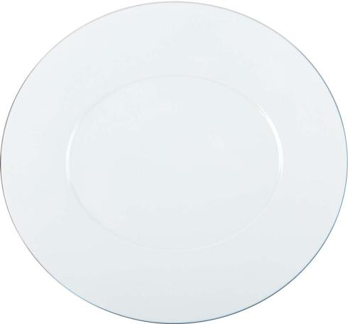 """Charger plate 13""""x12.25"""""""