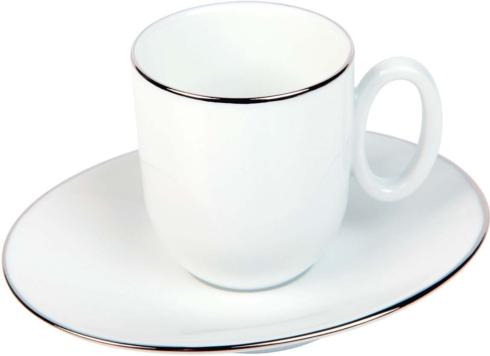 Moka cup & saucer