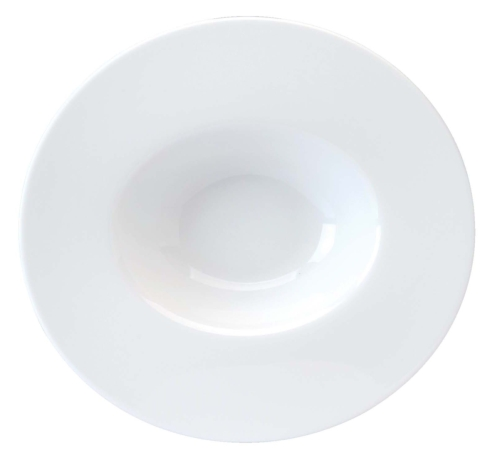 Deep cereal plate