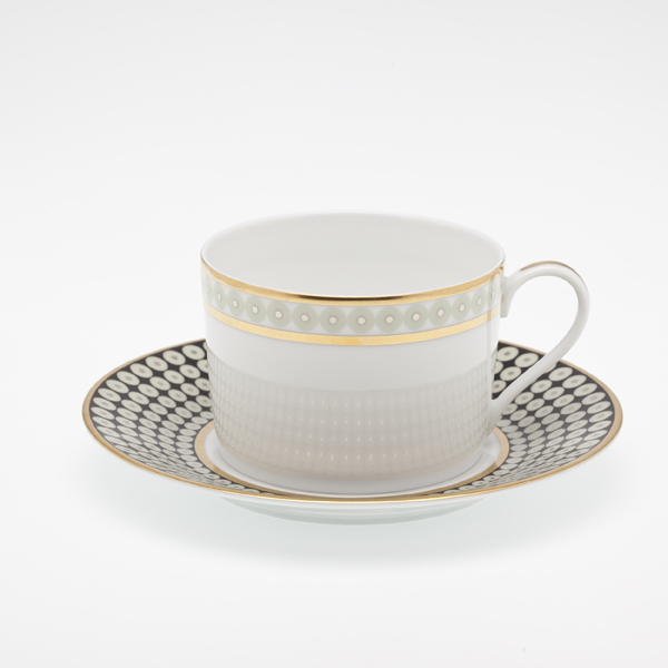 Royal Limoges  Recamier - Galaxie Tea cup $85.00