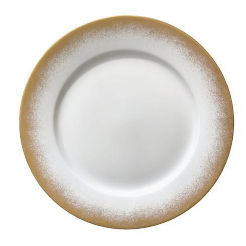 Royal Limoges  Recamier - Golden Fire (Feux d'or) Dinner plate $100.00