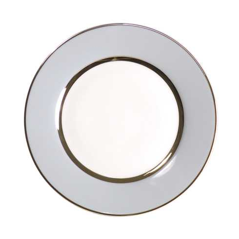 Royal Limoges  Recamier - MAK grey/platinum Dinner plate $90.00