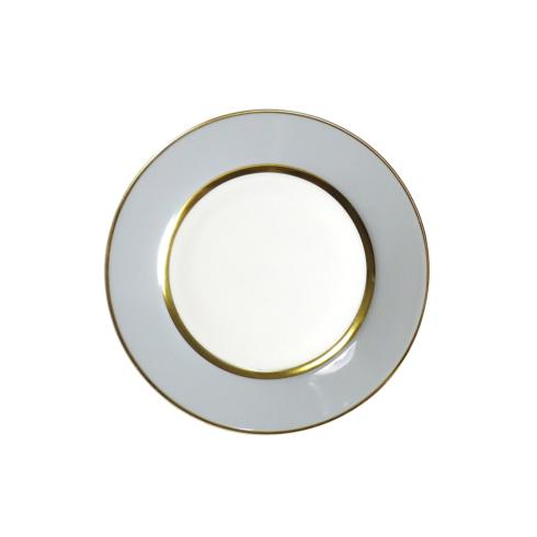 Royal Limoges  Recamier - MAK grey/gold Dessert plate $80.00