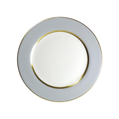Royal Limoges  Recamier - MAK grey/gold Dinner plate $90.00