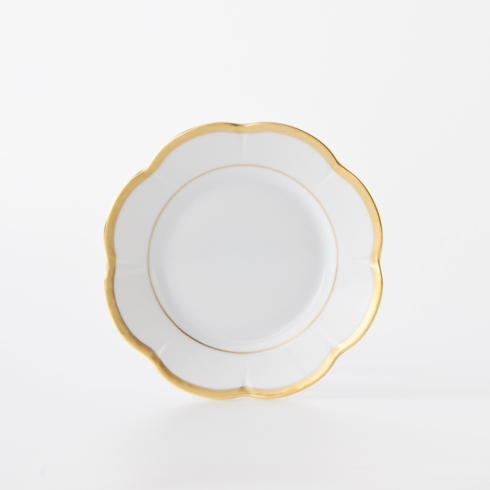 Royal Limoges  Nymphea - Margaux gold Bread & Butter Plate $70.00