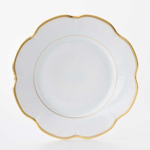 Royal Limoges  Nymphea - Margaux gold Dinner Plate $105.00