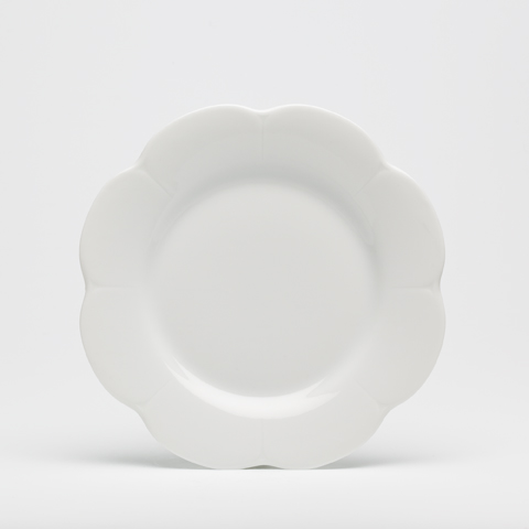 Royal Limoges  Nymphea - White Dessert plate $28.00